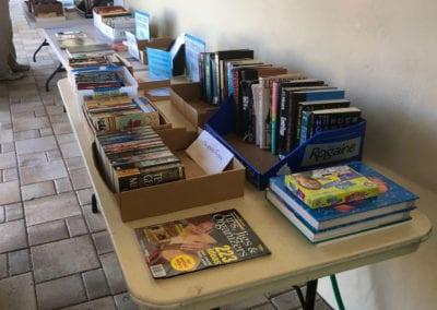 Booksale Outside the Bookstore