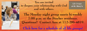 Life Groups at St. Mary's